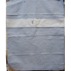 Sacchetto asilo grande con tela aida f.partita