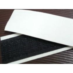 velcro strap maschio adesivo bianco e nero